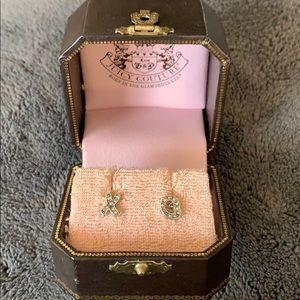 Juicy Couture XO Earrings